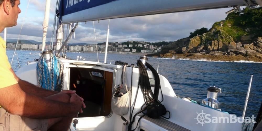 Segelboot mieten in Donostia/San Sebastián - Bénéteau First 40.7