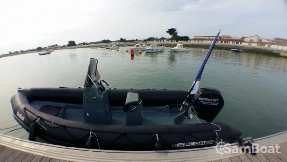 Noleggio yacht La Flotte - Bombard Explorer 600 su SamBoat