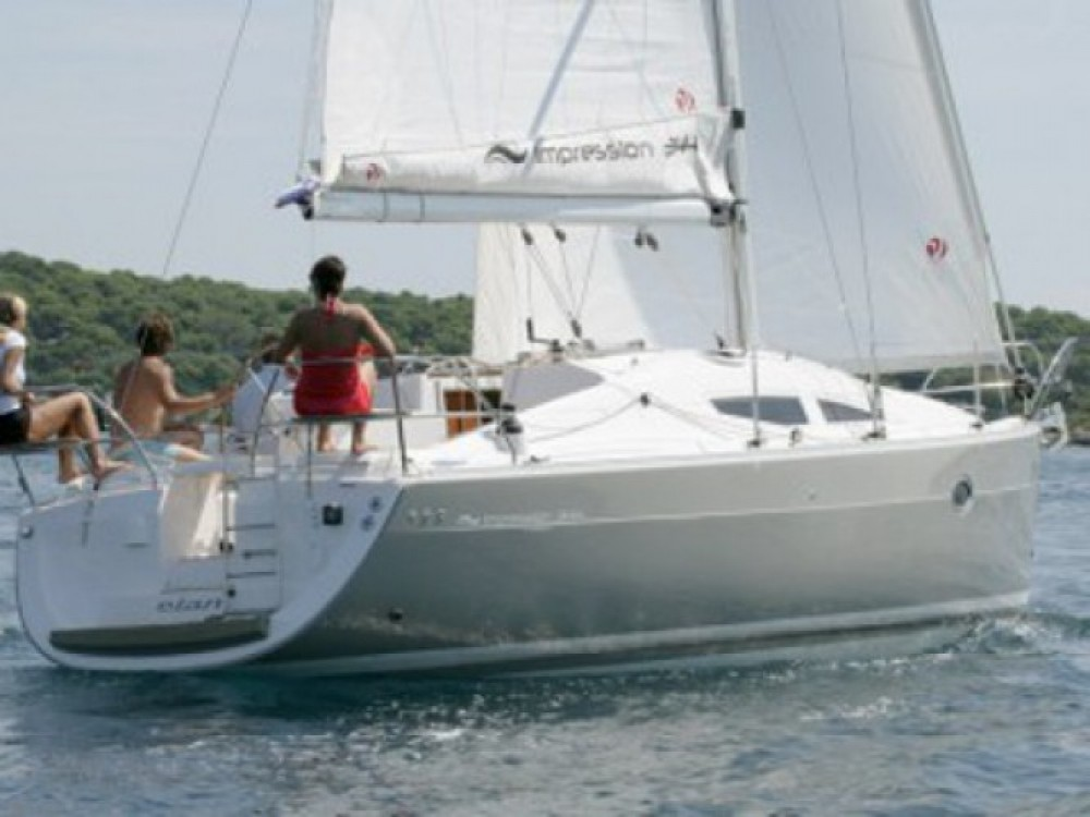 Location bateau Marina Kornati pas cher Elan 34
