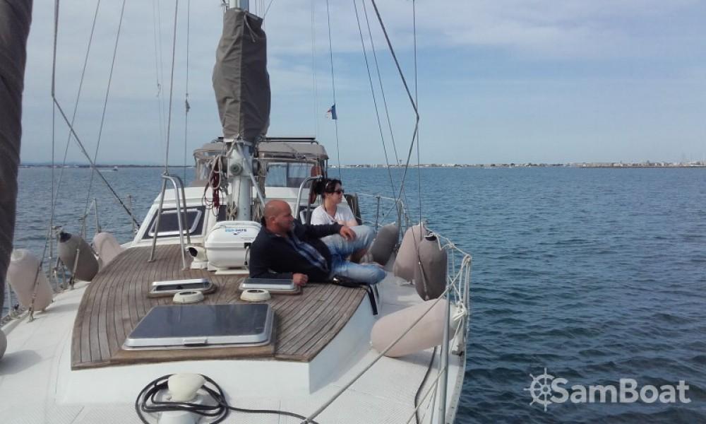 Vermietung Segelboot Cnso mit Führerschein