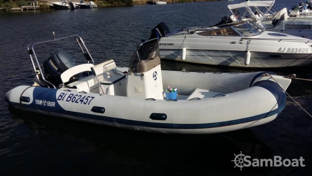 Location bateau Saint-Florent pas cher YAM 550 R
