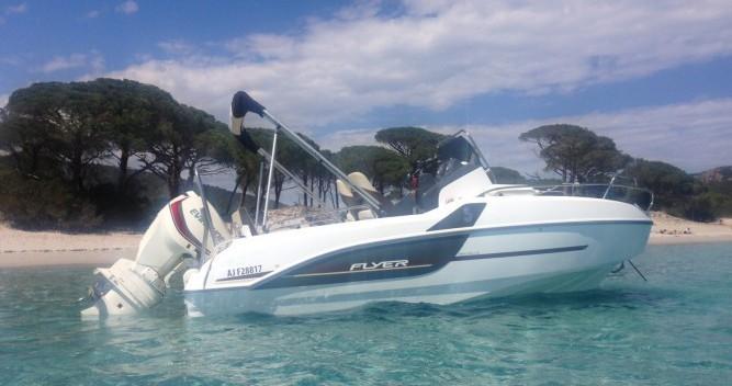 Boat rental Zonza cheap Flyer 5