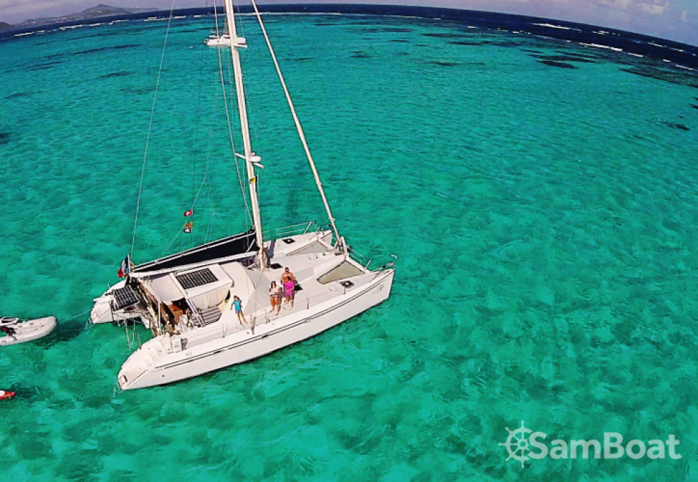 Hire Catamaran with or without skipper Jeantot-Marine Saint-François