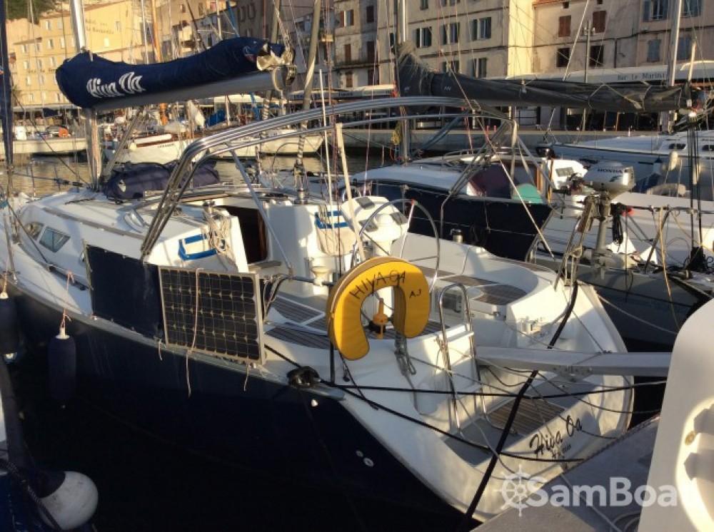 Location bateau Bonifacio pas cher Sun Odyssey 37