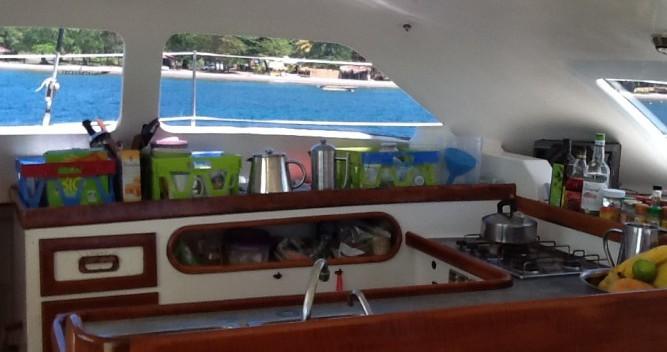Location bateau Multicap-Caraibes Punch 12.50 à Pointe-à-Pitre sur Samboat