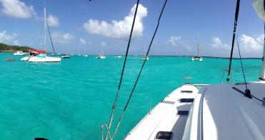 Location bateau Bouillante pas cher Lagoon 440