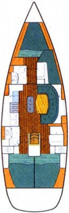 Noleggio barche Bénéteau Oceanis 411 Celebration Carloforte su Samboat