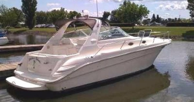 Louer Bateau à moteur avec ou sans skipper Sea Ray à Six-Fours-les-Plages