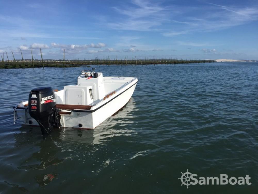 Location bateau Lège-Cap-Ferret pas cher Seaweed