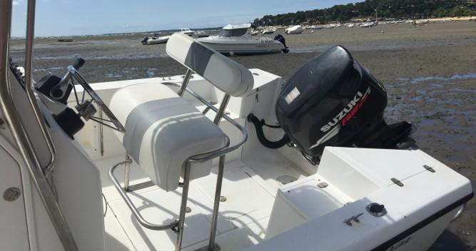 Location bateau Fishing 22 open à Lège-Cap-Ferret sur Samboat
