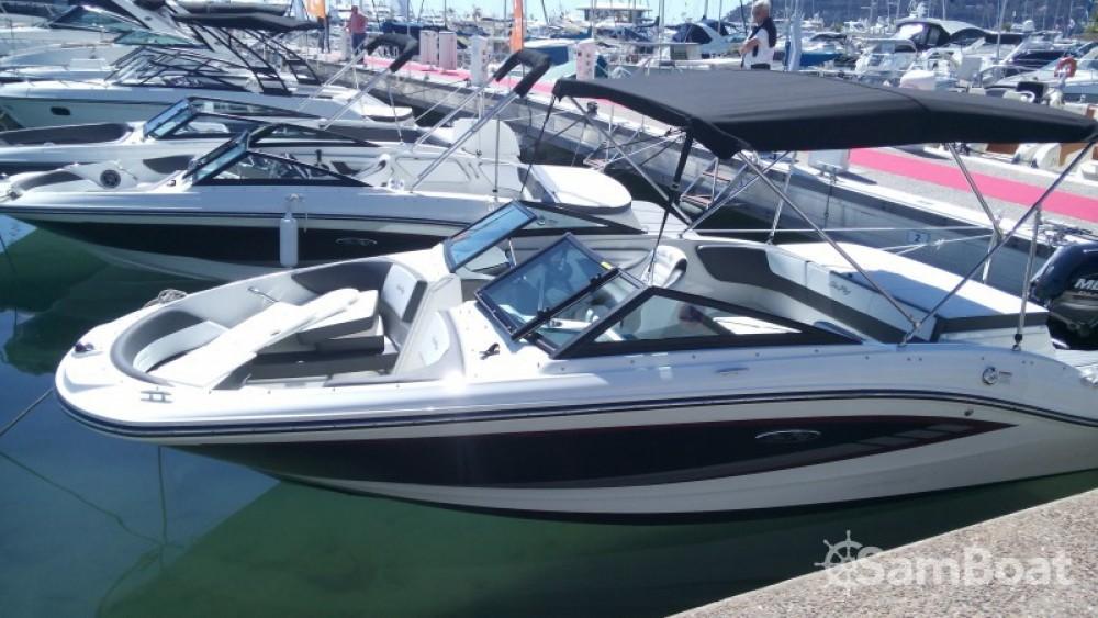 Motorboot mieten in Mandelieu-la-Napoule - Sea Ray SPX 190 OB
