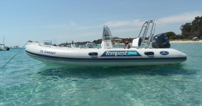 Location bateau Hyères pas cher Tempest 500