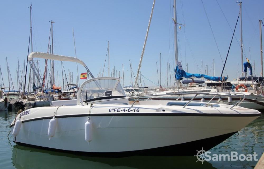 Barca a motore a noleggio Port esportiu del Masnou al miglior prezzo