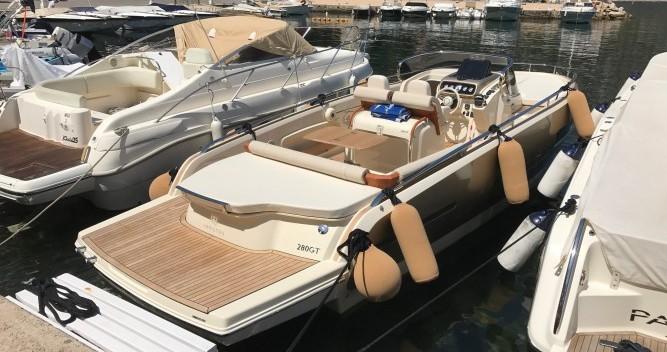 Location bateau Beaulieu-sur-Mer pas cher 280 GT