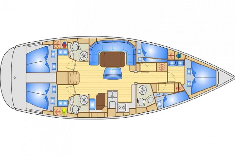 Bavaria Cruiser 50 entre particuliers et professionnel à Ameglia