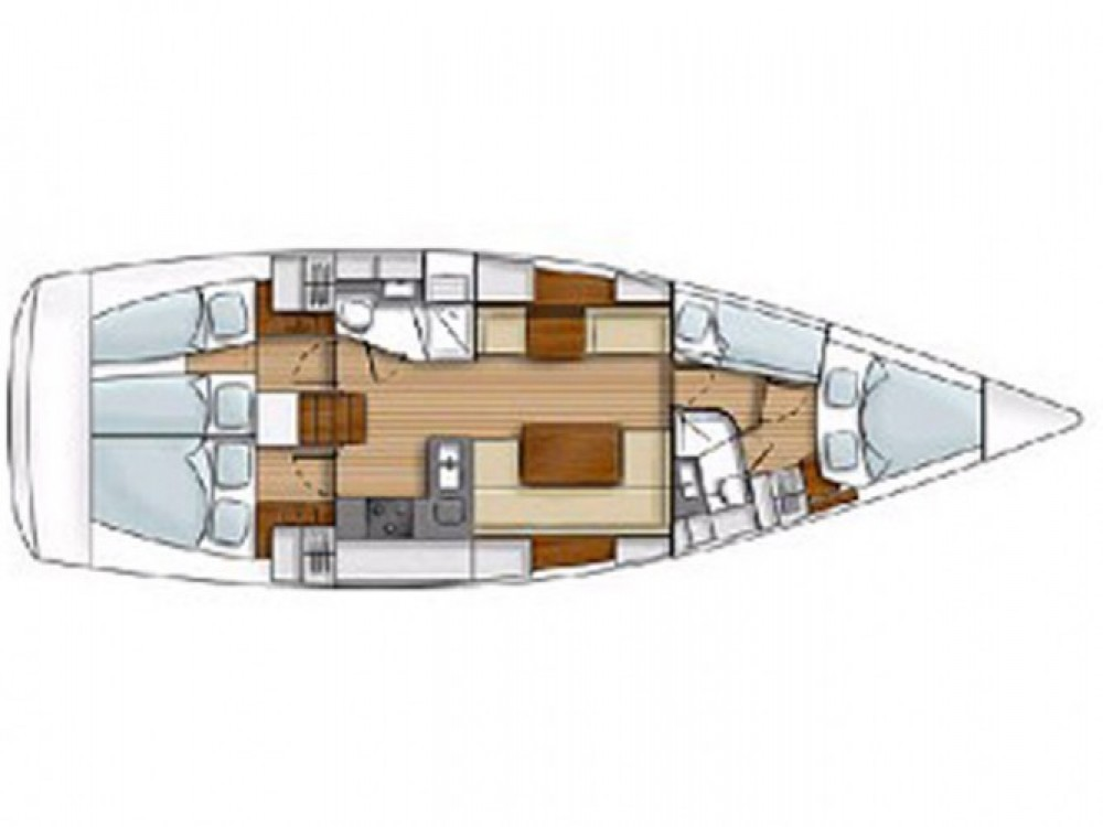 Location bateau Hanse Hanse 430 E à Μαρίνα Αλίμου sur Samboat