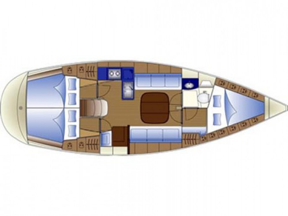 Location bateau Σκιάθος pas cher Bavaria 36