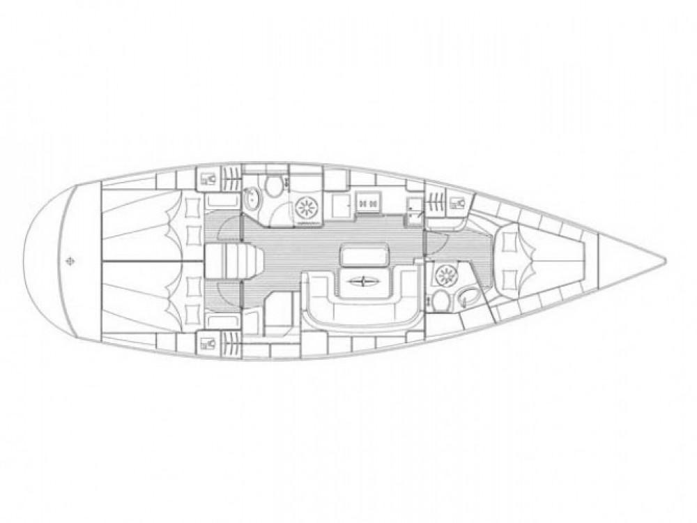 Location bateau Σκιάθος pas cher Bavaria 42 Cruiser