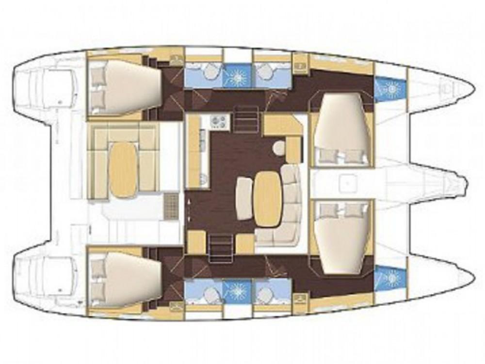 Louer Catamaran avec ou sans skipper Lagoon à Volos