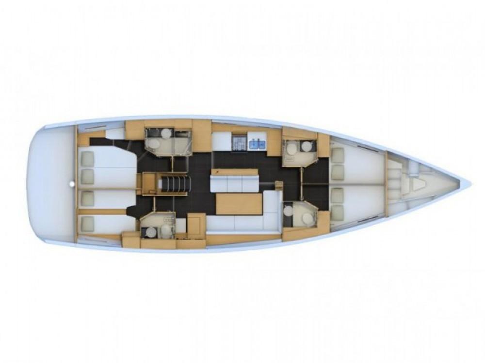 Location bateau Volos pas cher Jeanneau 54