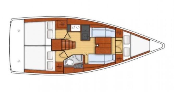 Location bateau Biograd na Moru pas cher Oceanis 35.1