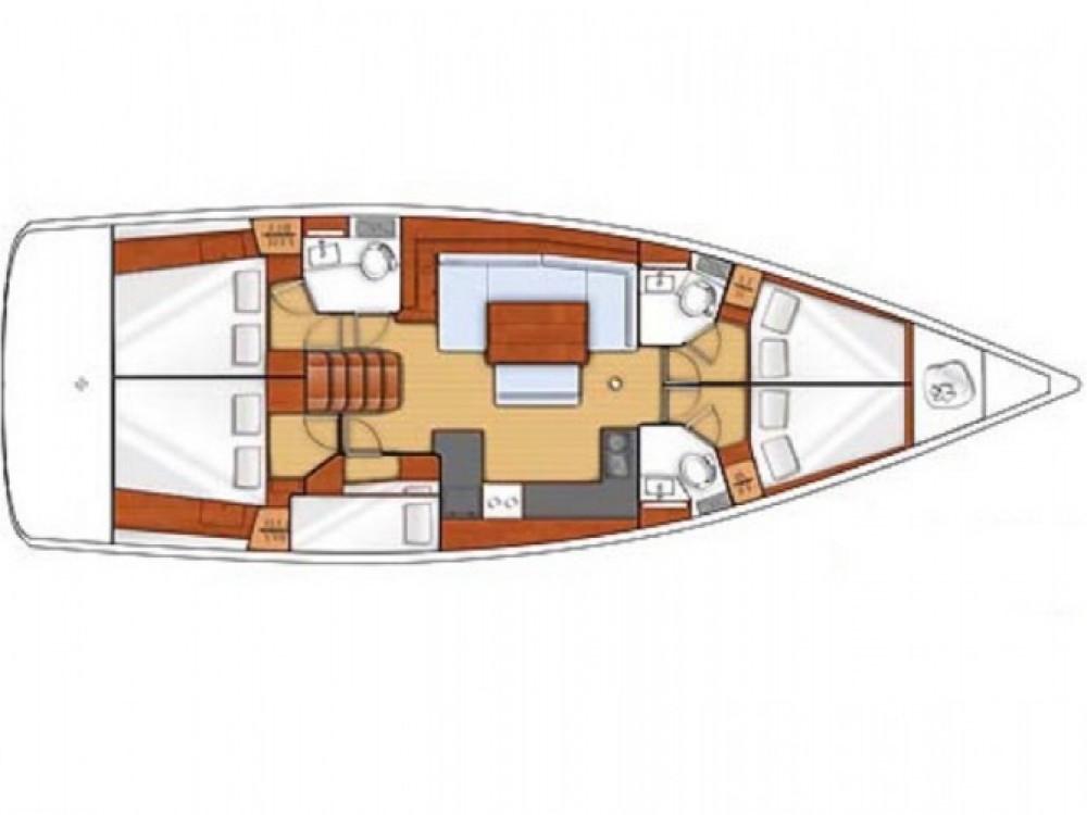 Location bateau Furnari pas cher Oceanis 48