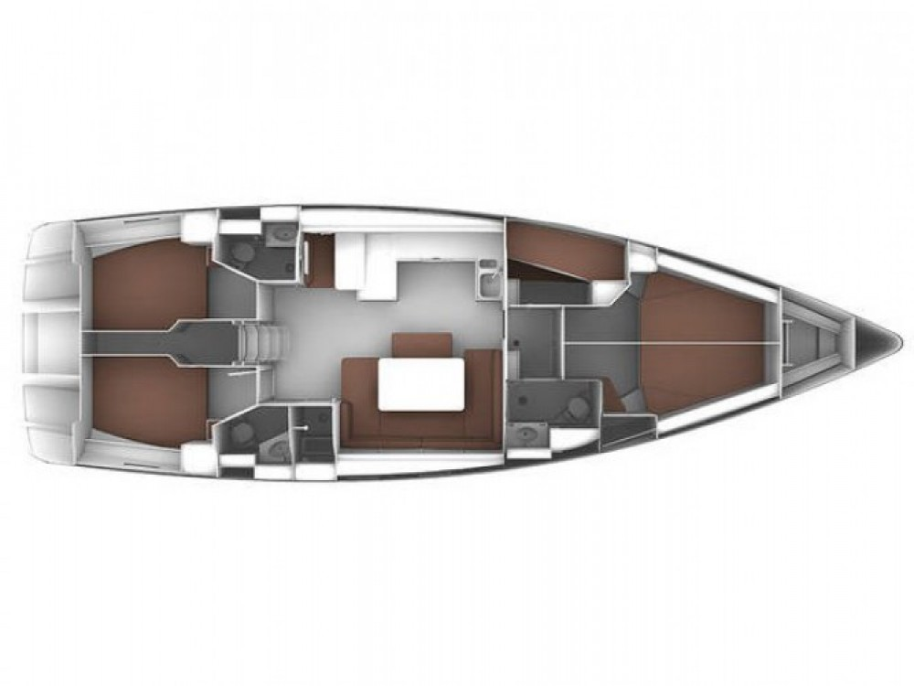 Location bateau Alghero pas cher Cruiser 51