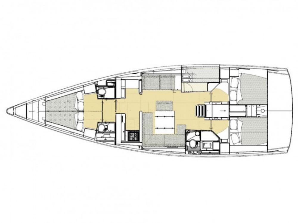 Location bateau Dufour Dufour 512 Grand Large à Cagliari sur Samboat