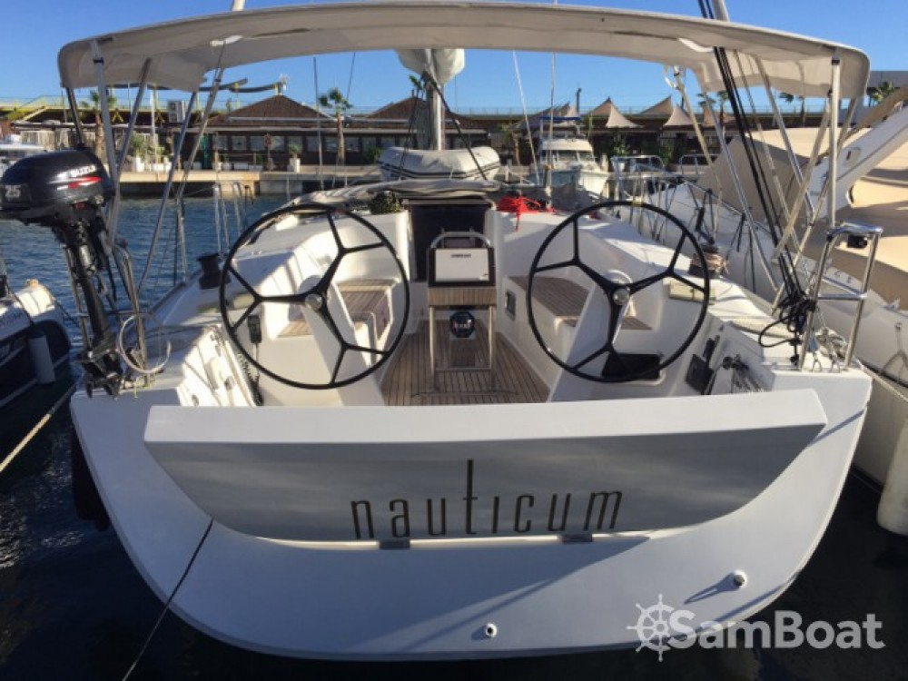 Location bateau Ibiza Magna pas cher Hanse 400