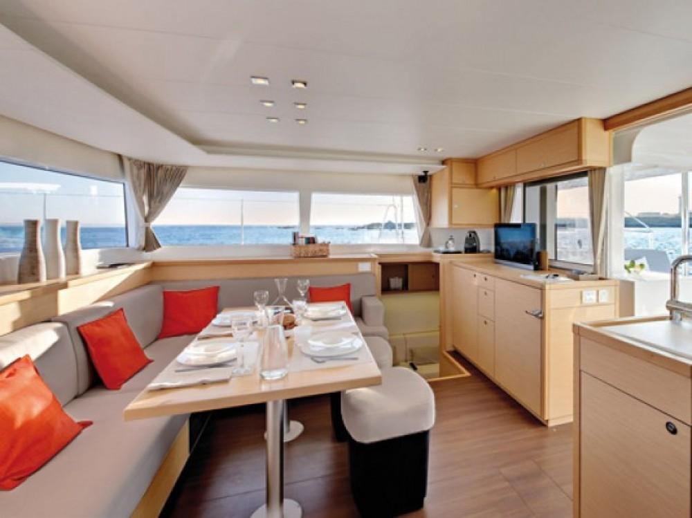 Location Catamaran à Grand Case - Lagoon Lagoon 450