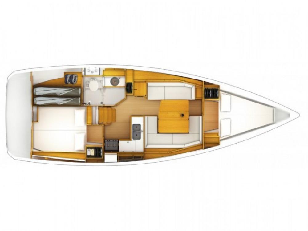 Location bateau Primošten pas cher Sun Odyssey 379 (3cab)