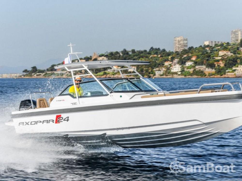 Location bateau Seget Donji pas cher Axopar 24 TT