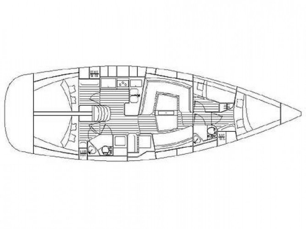 Location bateau Unity pas cher Elan 434