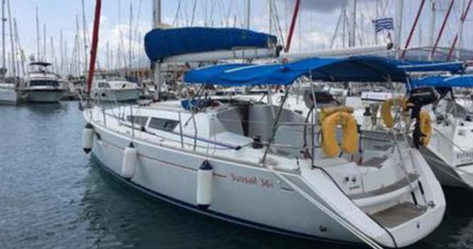 Jeanneau Sun Odyssey 36i entre particuliers et professionnel à Lávrio