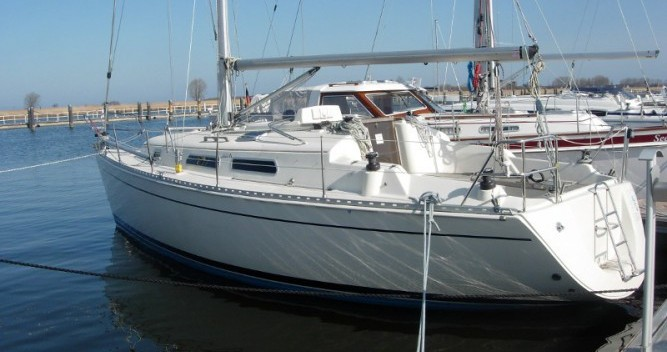 Hire Sailboat with or without skipper Hanse Marina Kröslin