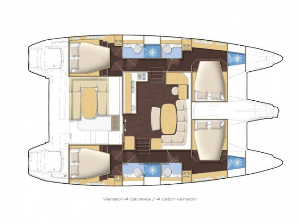 Louer Catamaran avec ou sans skipper Lagoon à Milazzo