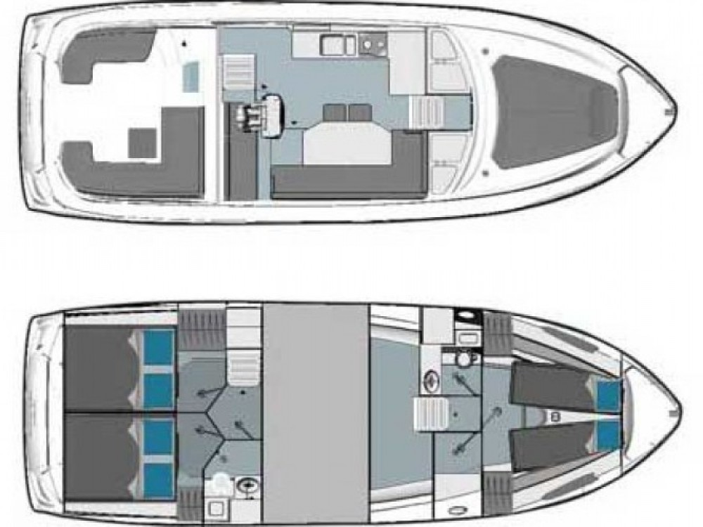 Location bateau Bavaria E40 Fly à Marina Kornati sur Samboat