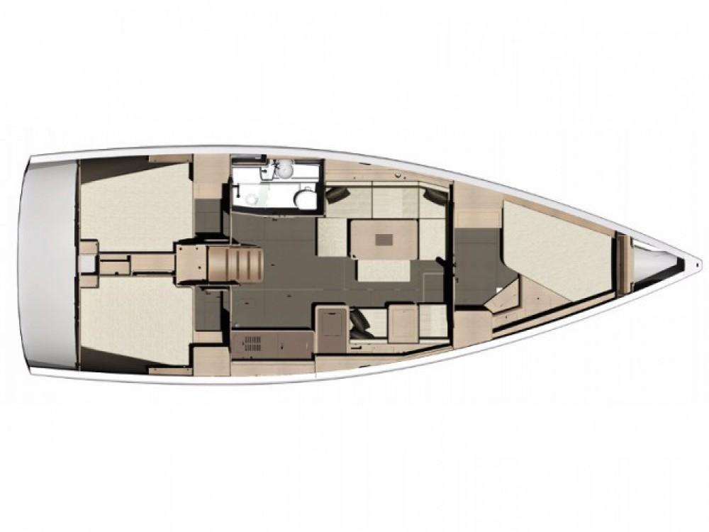 Location bateau Dufour Dufour 410 Grand Large à Hjellestad Marina sur Samboat