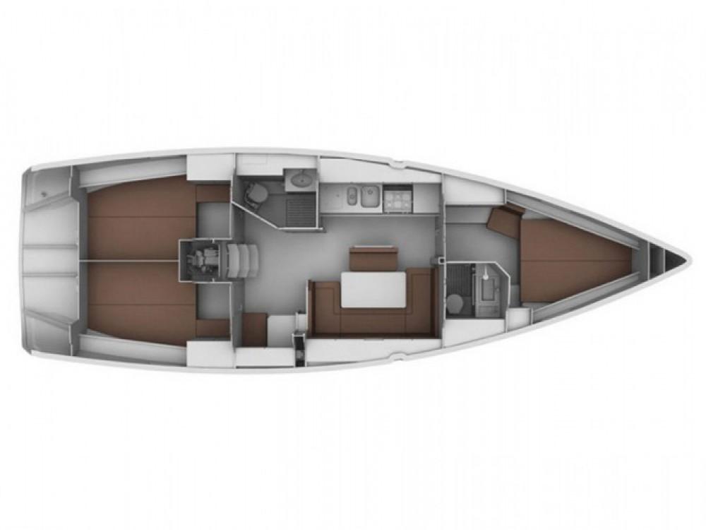 Bavaria Cruiser 40 entre particuliers et professionnel à Sibenik