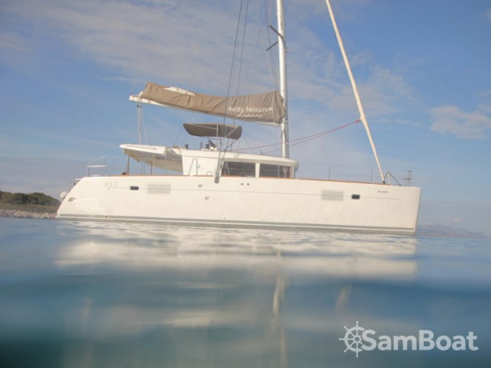 Location bateau Lagoon Lagoon 450 à Marina de Alimos sur Samboat