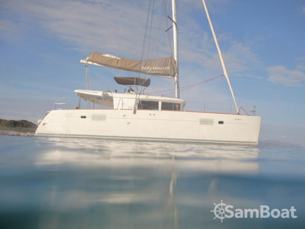 Location Catamaran à Μαρίνα Αλίμου - Lagoon Lagoon 450