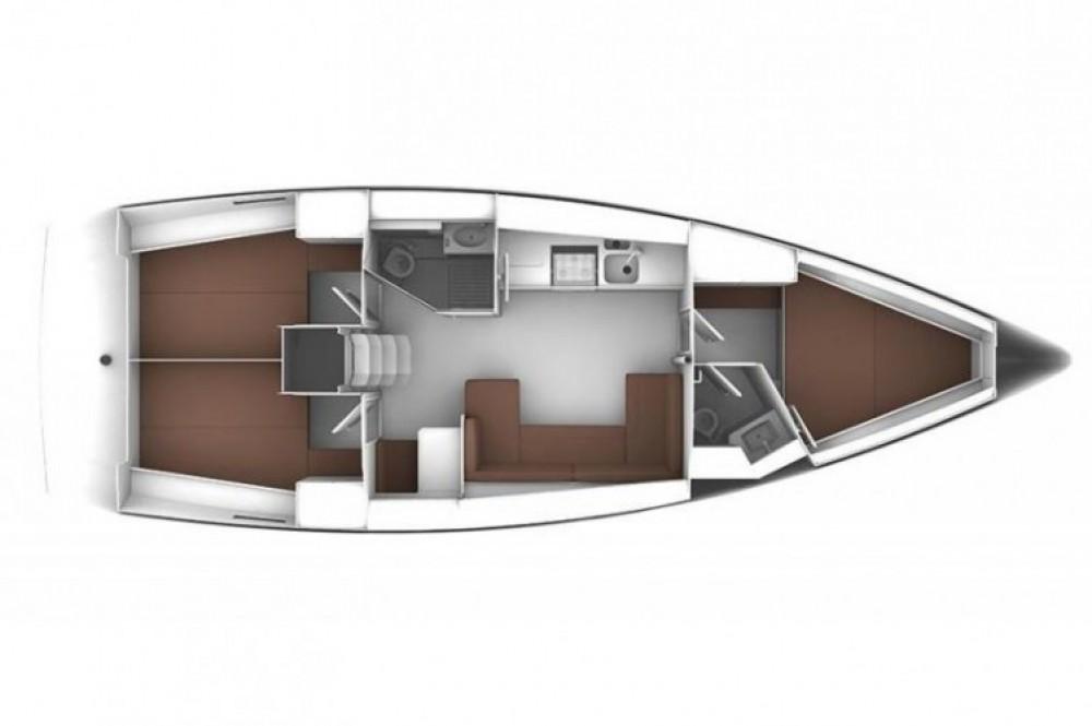 Location yacht à ACI Marina Trogir - Bavaria Cruiser 41 sur SamBoat