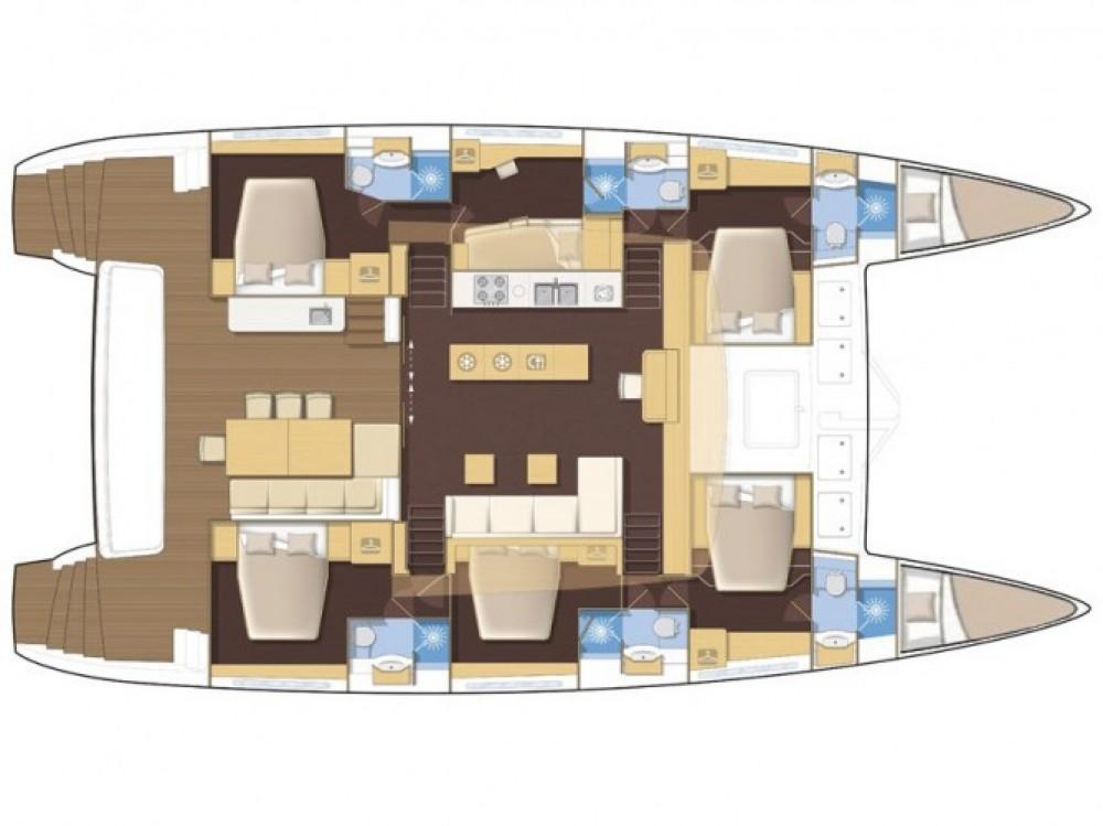 Louer Catamaran avec ou sans skipper Lagoon à Marina Kaštela