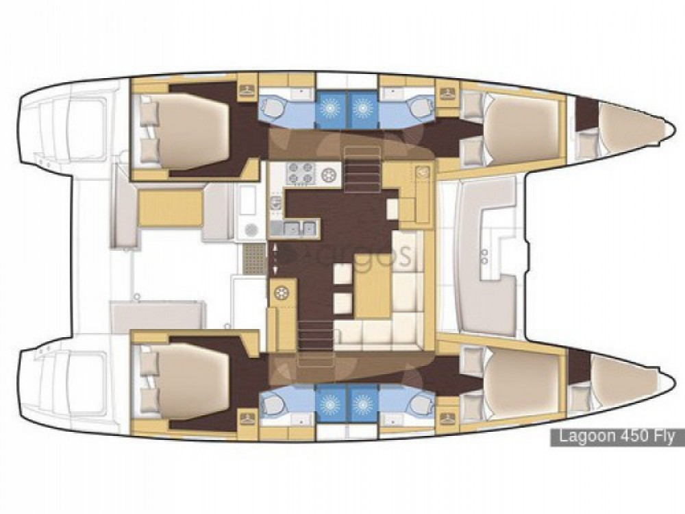 Lagoon Lagoon 450 entre particuliers et professionnel à Grenada Yacht Club