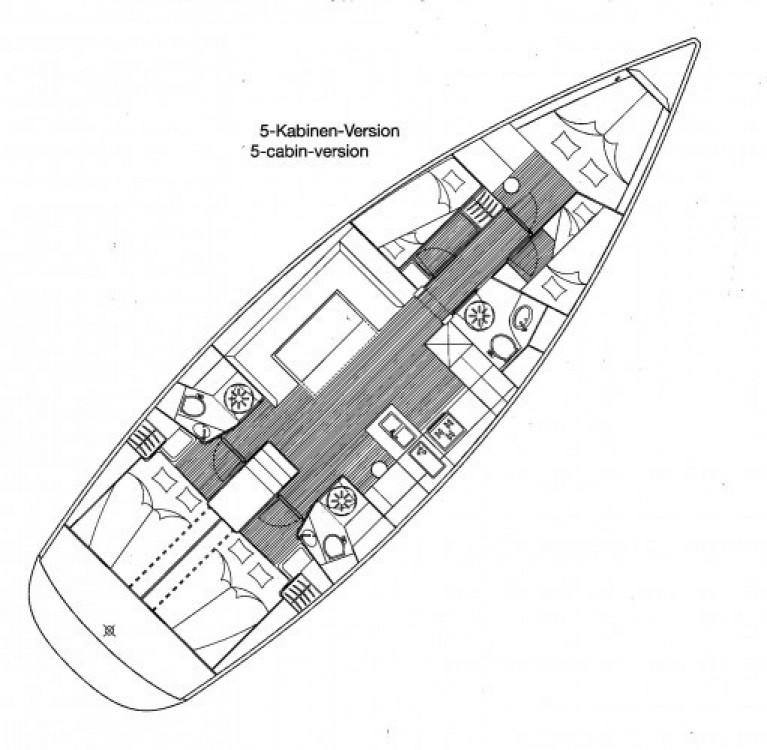 Location bateau Bavaria Cruiser 51 à Castiglioncello sur Samboat