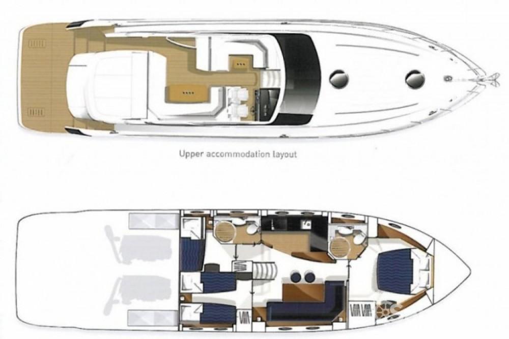 Location Bateau à moteur à Cannes - Princess Princess V56