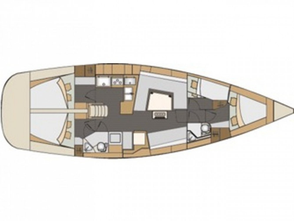 Location bateau Elan Elan 45 à Hjellestad Marina sur Samboat