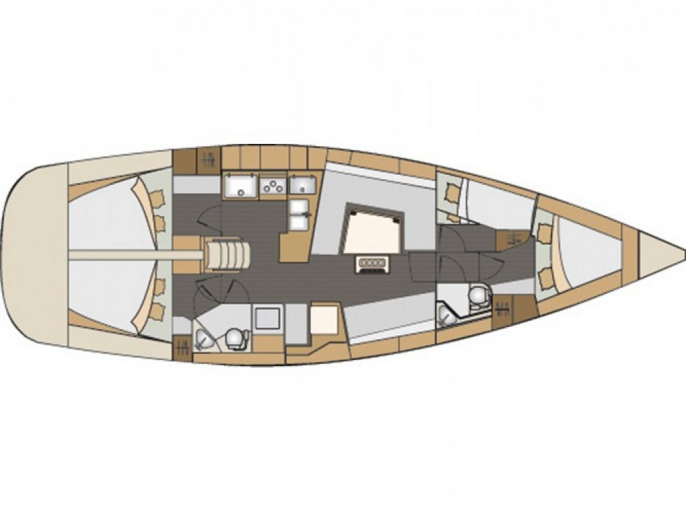 Location bateau Elan Elan 45 Impression à Hjellestad Marina sur Samboat