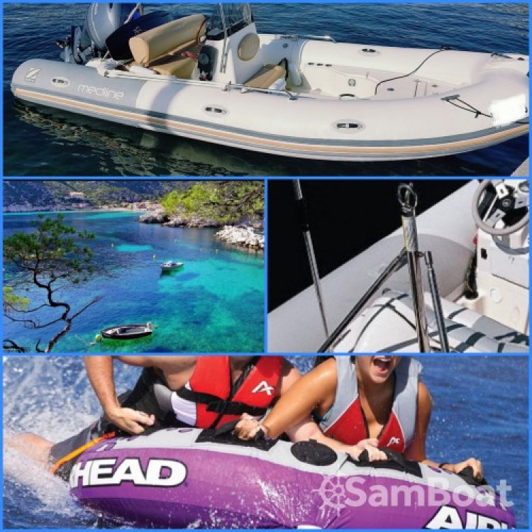 Noleggiare un'Zodiac Medline 550 La Ciotat