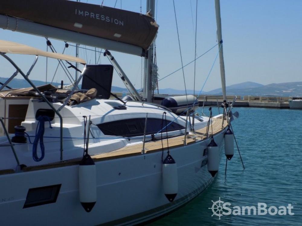 Location bateau Marina Kaštela pas cher Elan Impression 45